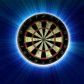 Darts board — Stock Photo