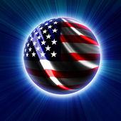 American symbol — Stock Photo