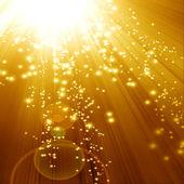 Golden glitzernden hintergrund — Stockfoto