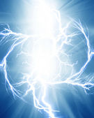 Electrical discharge — Stock Photo