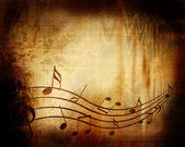 Old music sheet — Stock Photo