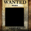Stock Photo: Wanted
