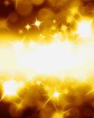 Golden glitters — Stock Photo