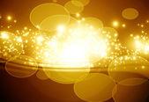 Golden sparkling background — Stock Photo
