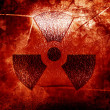 Stock Photo: Nuclear sign