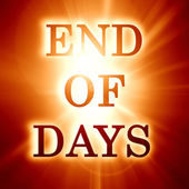 End of days — Stock Photo