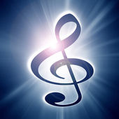 Music note — Stock Photo