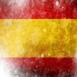 Spanish flag — Stock Photo