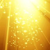 Golden spotlight — Stock Photo