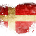 Danish flag — Stock Photo #31423641