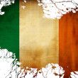 Stock Photo: Irish flag