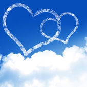 Love is in the air — Stock Photo