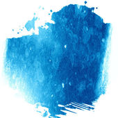 Blue paint — Stock Photo