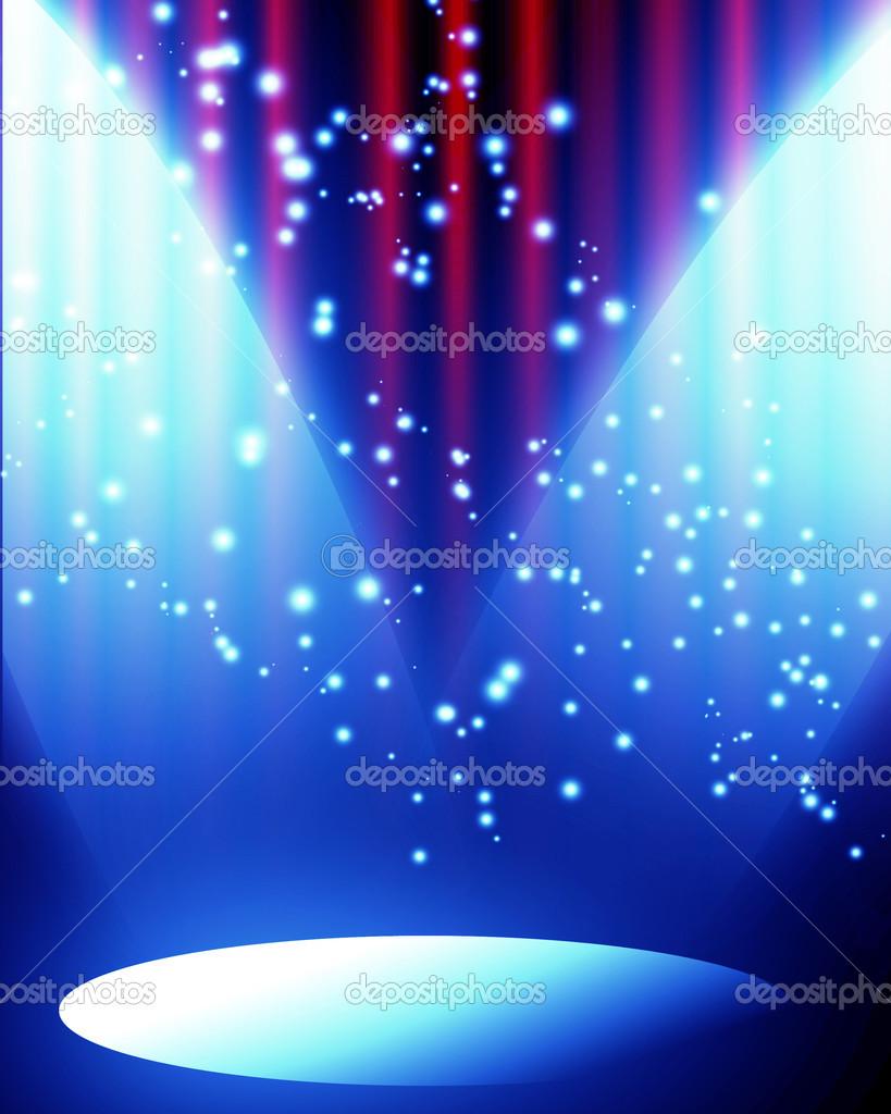Big event red curtains with spotlight stock photo getty images - Red Curtain With Spotlight Stock Photo Ellandar 31425381