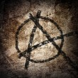 Anarchy symbol — Stock Photo