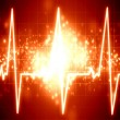 Heartbeat on display — Stock Photo