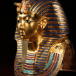 The mask of tut ankh amon — Foto Stock
