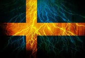 Swedish flag — Stock Photo