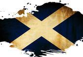 Bandiera scozzese — Foto Stock