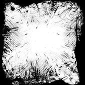 Black and white frame — Stock Photo