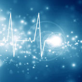 Heartbeat on display — Stock Photo