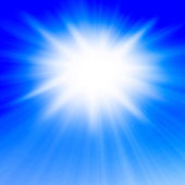 Summer sun — Stock Photo