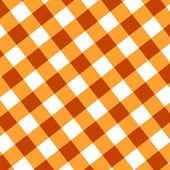оранжевый пикник ткань — Стоковое фото