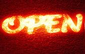 Open — Stock Photo