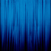 Blue drapes — Stock Photo