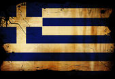 Greek flag — Foto Stock