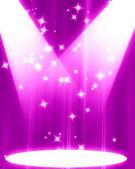 Pink spotlight — Stock Photo