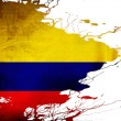Colombian flag — Stock Photo