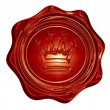 Foto Stock: Wax seal