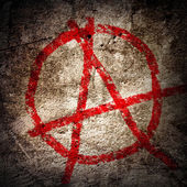 Anarchy symbol — Foto Stock
