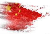 中国国旗 — 图库照片