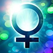 Female symbol — Stock Photo