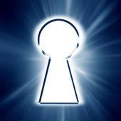 Key hole — Stock Photo