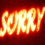 Sorry — Stock Photo #35184917
