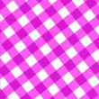 Stock Photo: Pink picnic cloth