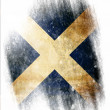 Stock Photo: Scottish flag