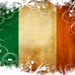 Irish flag — Stock Photo