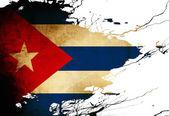 Bandera cubana — Foto de Stock