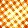 Orange picnic cloth — Stock Photo