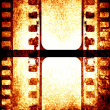 Brown filmstrip — Stock Photo