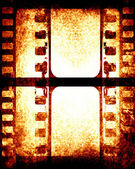Brown filmstrip — Stock Photo