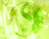 Yin yang sign — Stock Photo