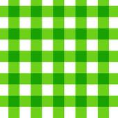 Green picnic cloth — Stock Photo