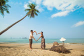 Love in tropics — Stock Photo