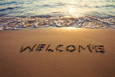 Welcome — Foto de Stock