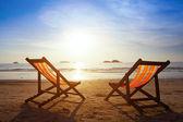 Beach travel — Stock Photo